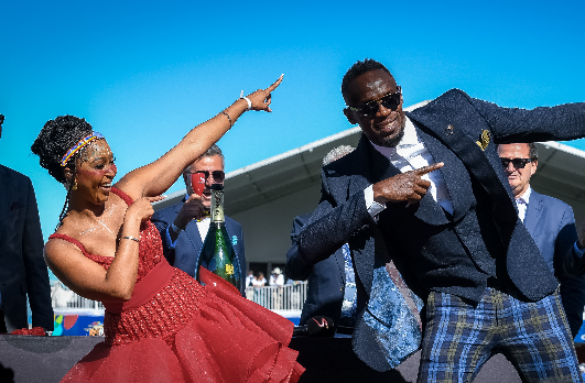usain bolt south africans make people feel right at home