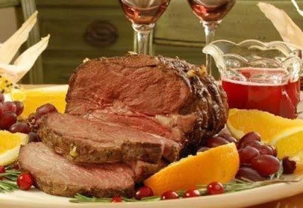 Herb Roasted Leg Of Lamb Recipe