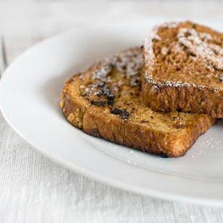 Spiced Egg Nog French Toast