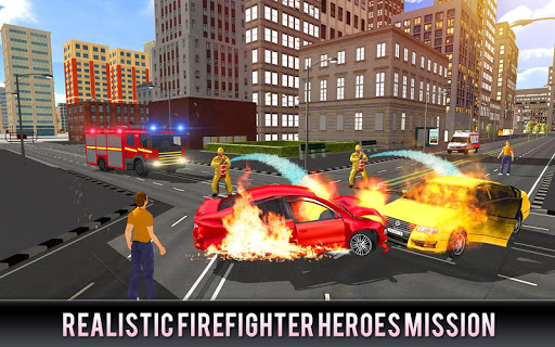 Firefighter Truck 911 Rescue: Emergency Driving 1.0.3 de.gamequotes.net 3