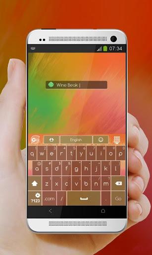 無料个人化Appのワインくちばし GO Keyboard|記事Game