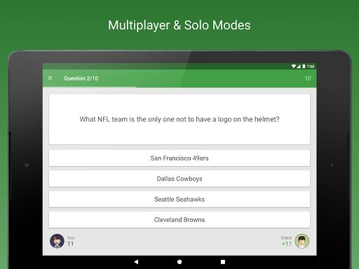 Sports Fan Quiz - NFL, NBA, MLB, NHL, FIFA, + apkpoly screenshots 6