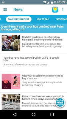 Breaking News & Weather - screenshot