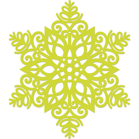 Kaisercraft Die - Intricate Snowflake UTGÅENDE