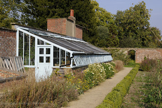 Photo: Charles Darwin's greenhouse at Down House, Downe, Kent in 2008. Copyright George Beccaloni