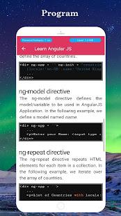 Download Learn Angular JS For PC Windows and Mac apk screenshot 6