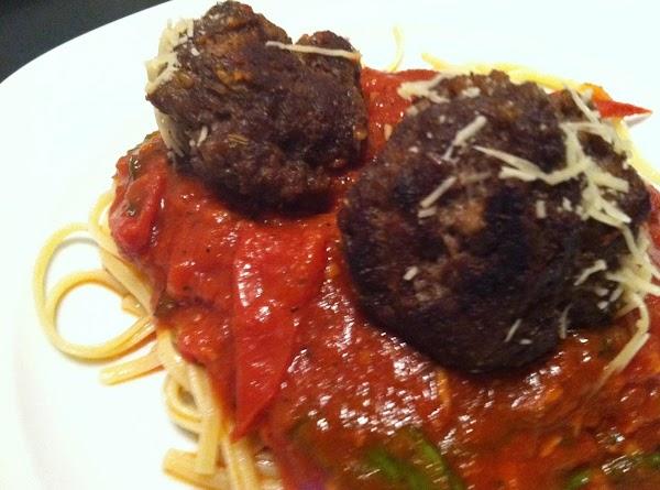 Spaghetti And Parmesan Meatballs Recipe