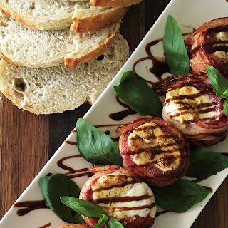Bacon Wrapped Stuffed Grilled Tomatoes