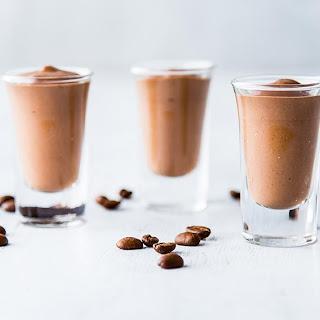 Chocolate Espresso Pudding Shots.