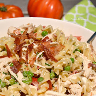 Bacon Chicken Ranch Pasta Salad
