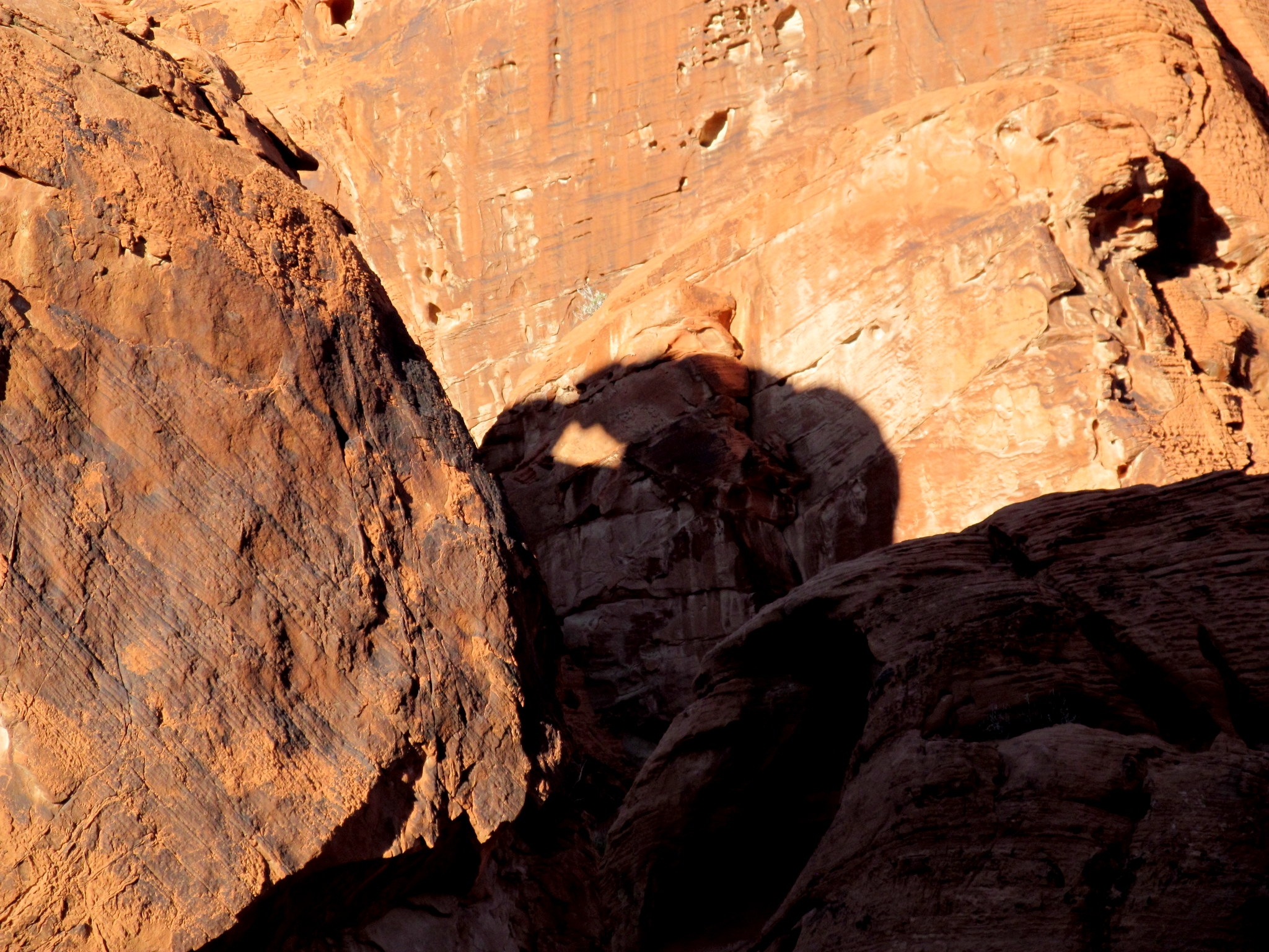 Photo: Shadow of a natural arch