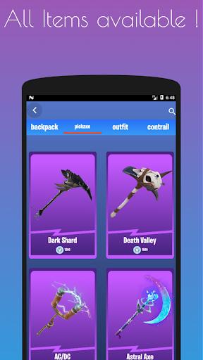 Emotes Ringtones And Daily Shop for Battle Royale screenshot 7