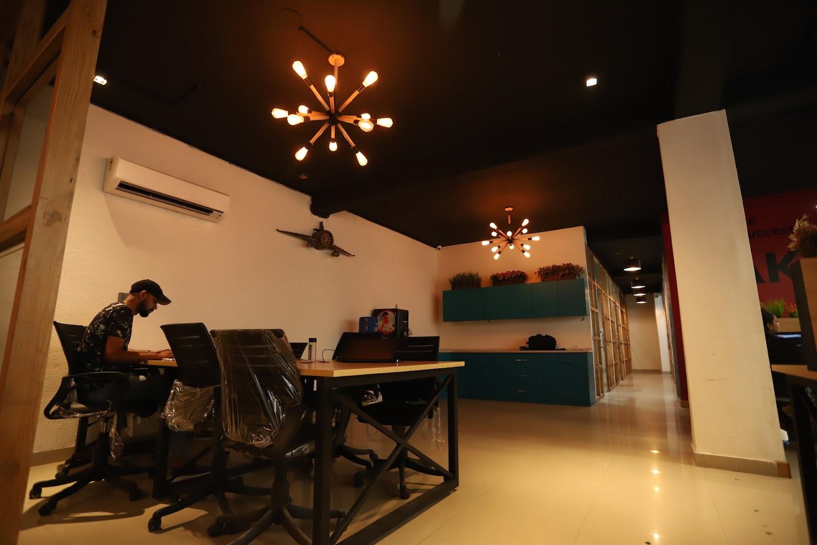 Kinnoti Coworking Space in Noida