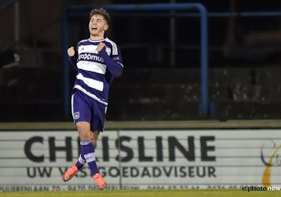 Anderlecht fait signer un contrat pro à un de ses jeunes talents