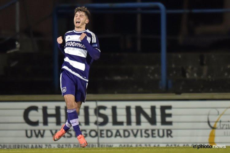 Anderlecht-belofte trekt volgend seizoen naar... Antwerp