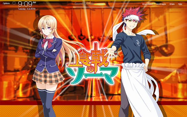 Food Wars Shokugeki no Soma Wallpapers HD