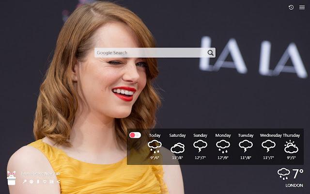 Emma Stone New Tab, Wallpapers HD