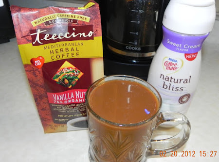Teeccino - Herbal Coffee Recipe