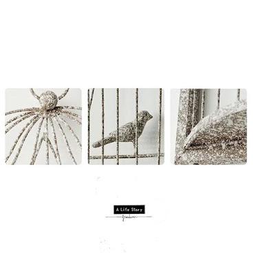 Vintage Series 《3D Iron birdcage Hanger 復古鐵鳥籠的掛牆裝飾》