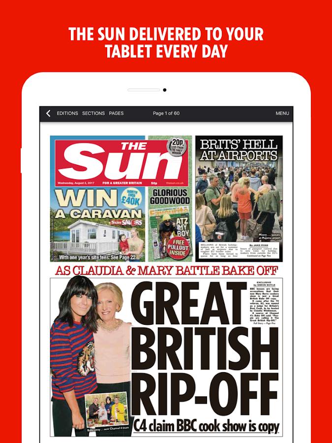 The Sun Mobile - News, Sport & Celebrity Gossip 4.1.12 APK ...
