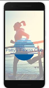 Pattys Fitness Club App - náhled