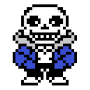 Sans Undertale for ANeko (ANeko Skin) APK icon