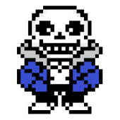 Sans Undertale for ANeko (ANeko Skin)