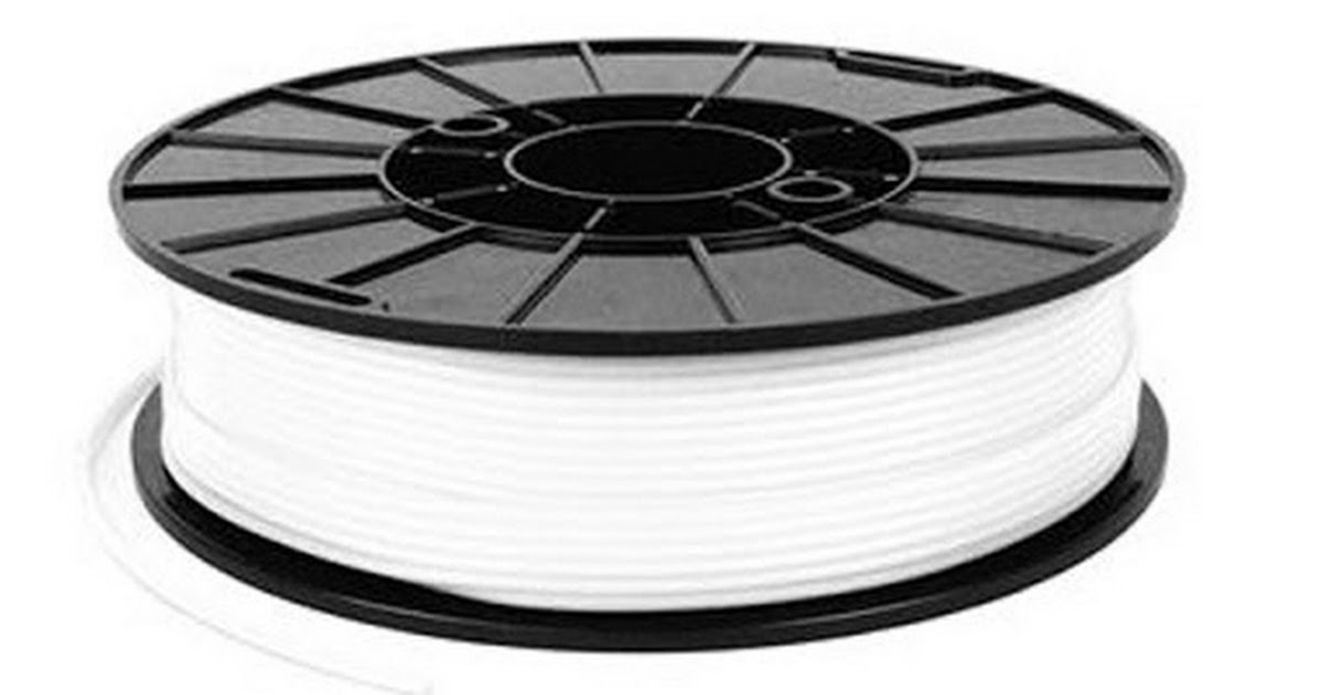 NinjaTek NinjaFlex Snow White TPU Filament - 1 75mm (0 5kg)