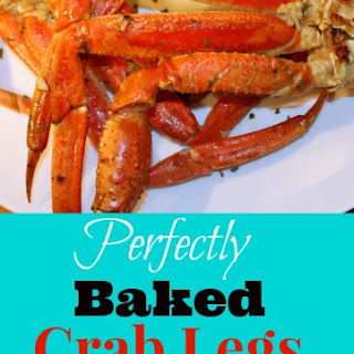 Perfectly Baked Crab Legs with Spicy Garlic Butter Recipe