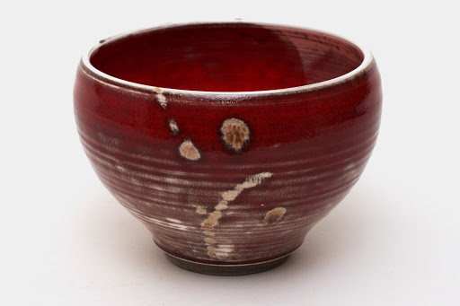 Bruce Chivers Ceramic Raku Tea Bowl 04