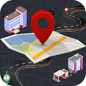 GPS Route Finder Live Earth Maps Navigation