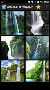 Waterfall HD Wallpaper - náhled