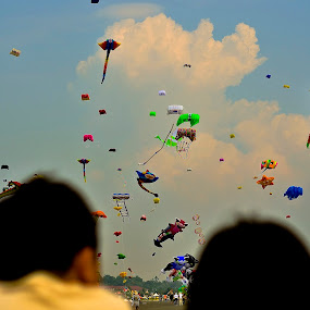 Borneo International Kite Festival 2012 by Andrian Andrew - Novices Only Street & Candid ( kite, international, festival, kites, borneo )