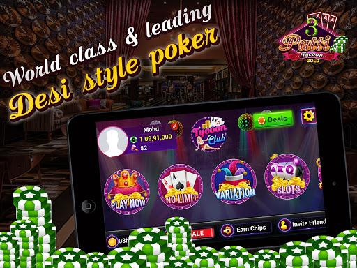 Teen Patti Tycoon Gold Indian Poker 2.3 screenshots 1