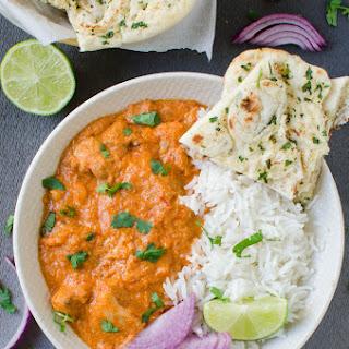 Restaurant Style Indian Butter Chicken.