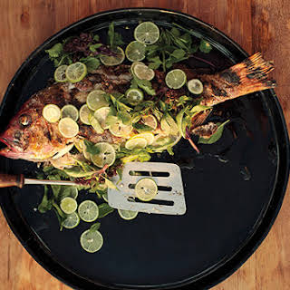 Grilled Fish Garnishes Recipes.
