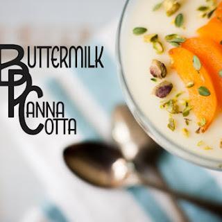 Buttermilk Panna Cotta.