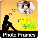 Miss You Photo Frame and Quote v 1.0 app icon