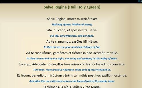 Dei Latin Prayer 116
