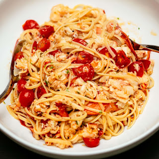 Garlic Pasta Lobster Recipes.