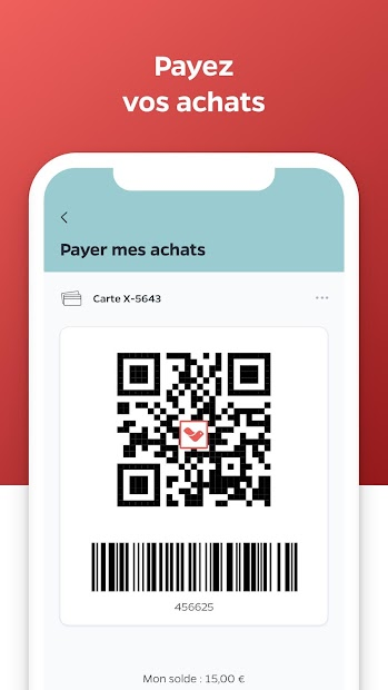 Lyf Pay : le paiement mobile Android App Screenshot