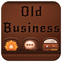 Old Business - Leather style icon