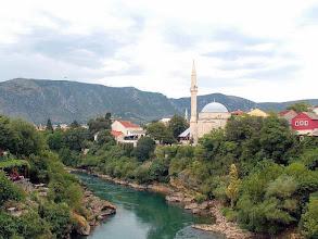 Photo: Mostar - Neretva river, Koski-Mehmed-Paša Mosque