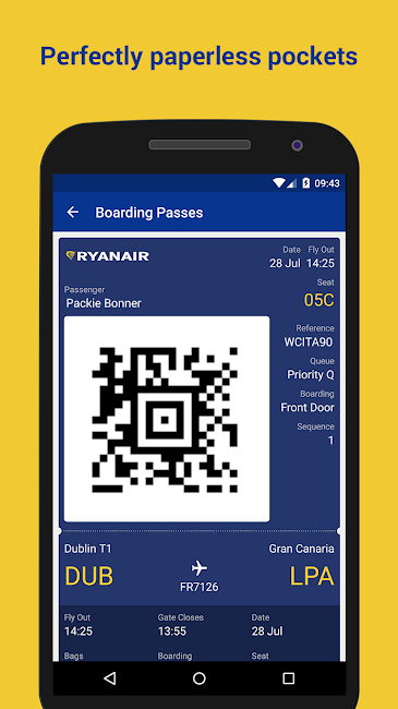 #4. Ryanair - Cheapest Fares (Android)