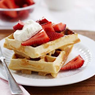 Strawberry Waffles.