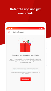 DENT - Send mobile data top-up APK for iPhone
