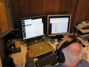 Photo: Terry W8ZN on V/UHF FM