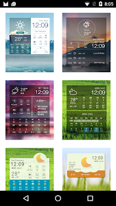 Multifunctional Weather Clock screenshot 3