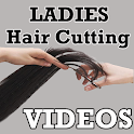 Ladies Hair Cutting VIDEOs icon
