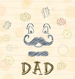 Father's Day Theme Card - náhled